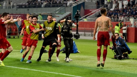 Liverpool forward Roberto Firmino