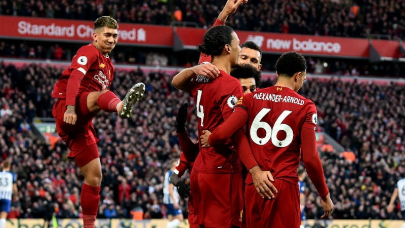 Five Liverpool Stars Make UEFA.com Fans' Team Of The Year For 2019