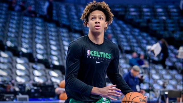 Boston Celtics Guard Romeo Langford
