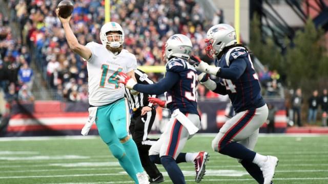 Dolphins quarterback Ryan Fitzpatrick