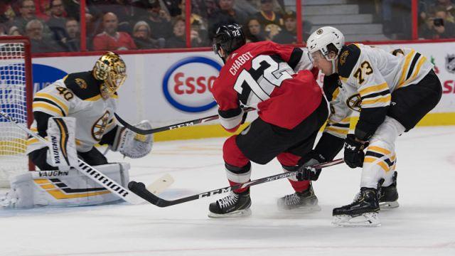Ottawa Senators defenseman Thomas Chabot