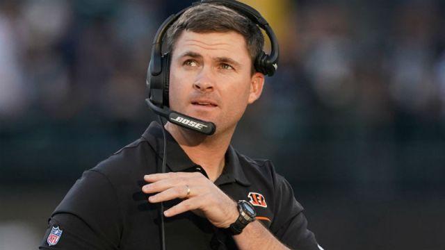Cincinnati Bengals head coach Zac Taylor