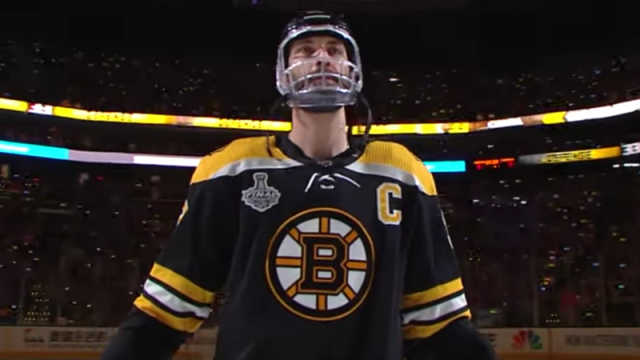 Boston Bruins Defenseman Zdeno Chara