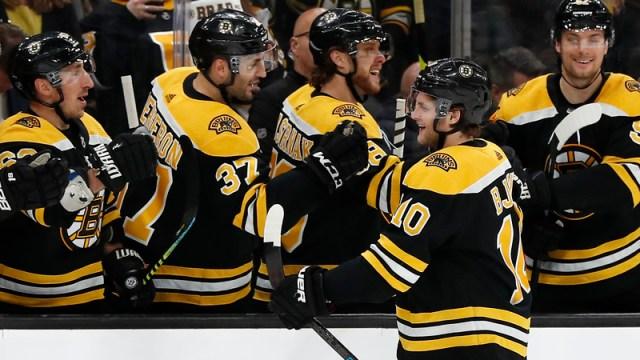 Boston Bruins' Anders Bjork