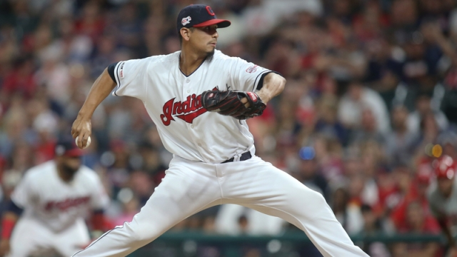 Cleveland Indians' Carlos Carrasco