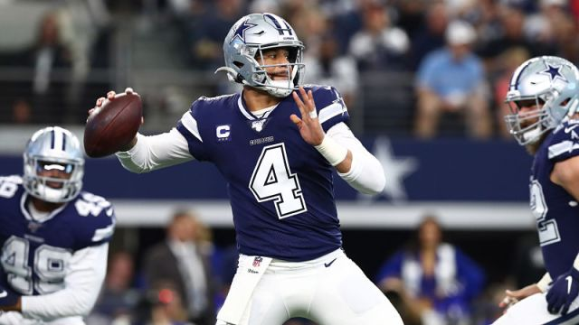 Dallas Cowboys quarterback Dak Prescott