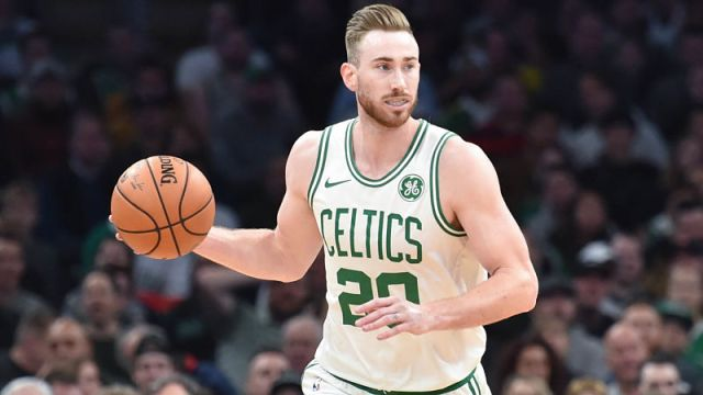 Former Boston Celtics forward Gordon Hayward