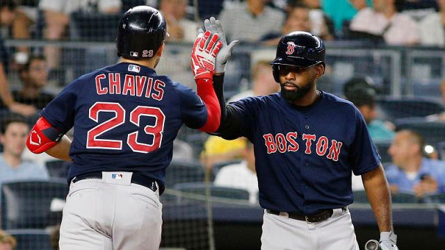Boston Red Sox's Michael Chavis