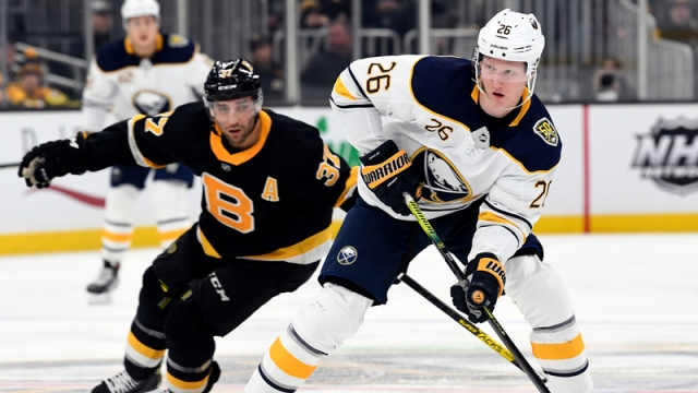 Boston Bruins' Patrice Bergeron