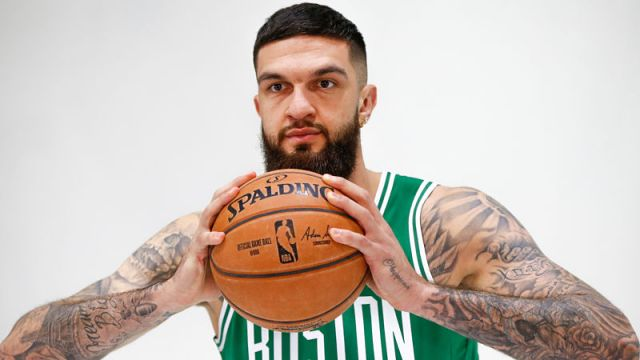 Boston Celtics center Vincent Poirier