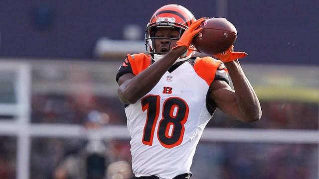 Bengals wide receiver A.J. Green