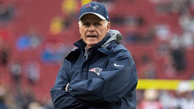 New England Patriots assistant Dante Scarnecchia