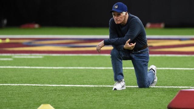 Former New England Patriots assistant coach Dante Scarnecchia