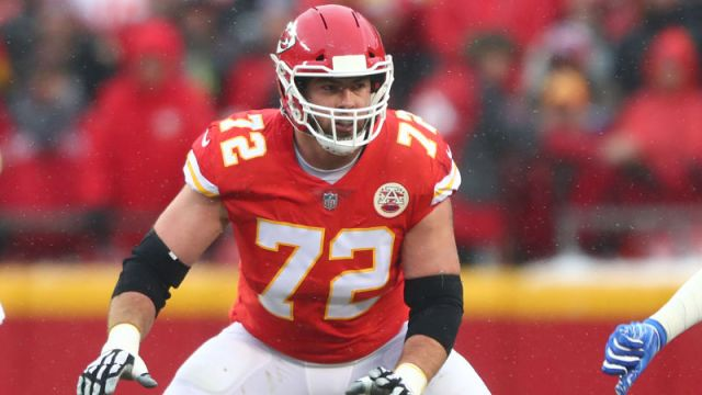 Kansas City Chiefs offensive tackle Eric Fisher
