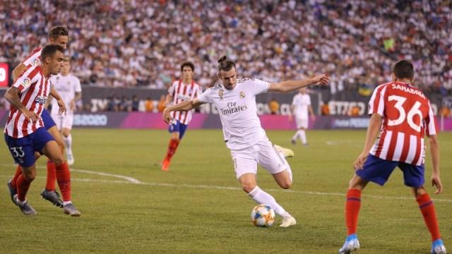 Real Madrid forward Gareth Bale (11)