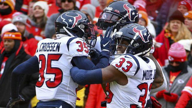 Houston Texans cornerback Keion Crossen