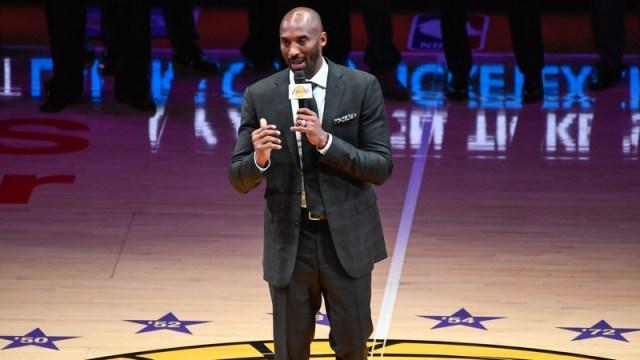 Former Los Angeles Lakers Forward Kobe Bryant