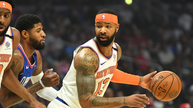 New York Knicks Forward Marcus Morris