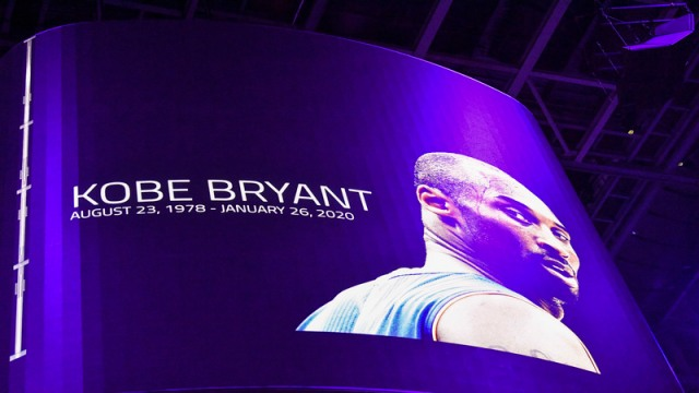 Former Los Angels Lakers Forward Kobe Bryant