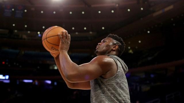 New Orleans Pelicans small forward Zion Williamson (1)