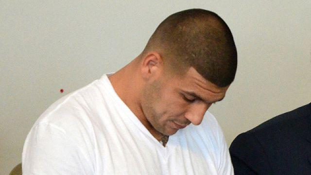 New England Patriots former tight end Aaron Hernandez