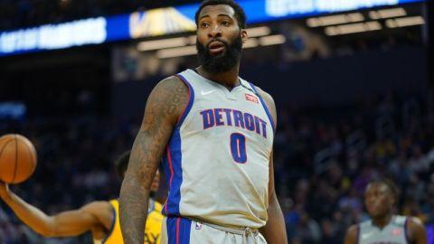 Pistons center Andre Drummond