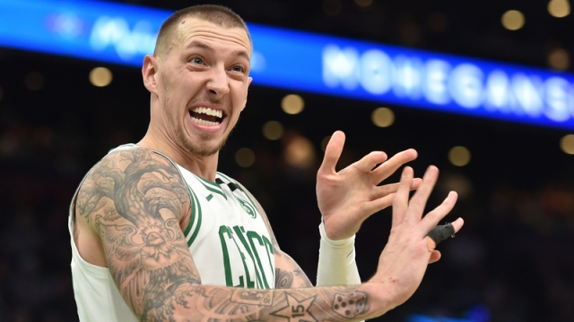 Celtics center Daniel Theis