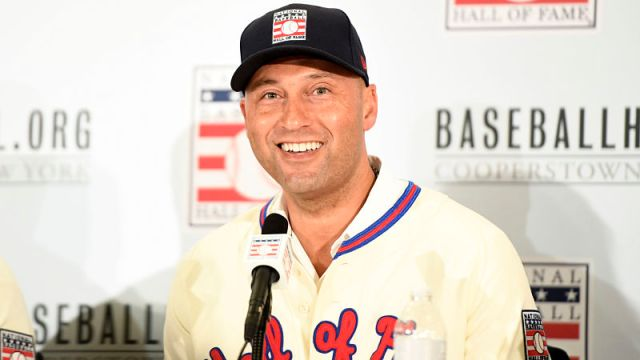 Former New York Yankees shortstop Derek Jeter