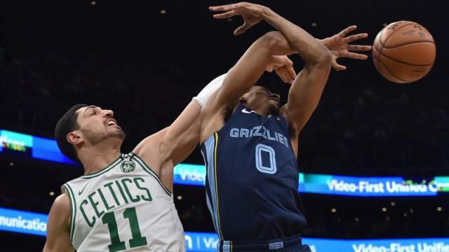 Boston Celtics forward Enes Kanter