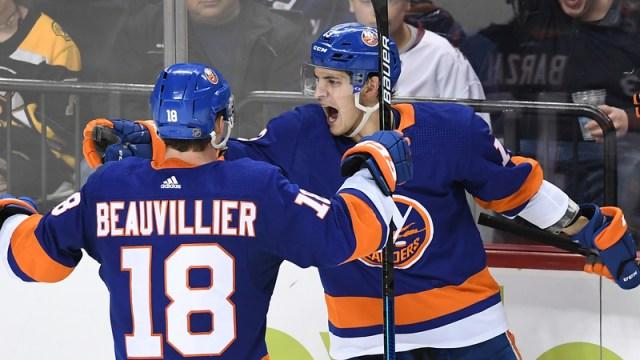 New York Islanders' Mathew Barzal