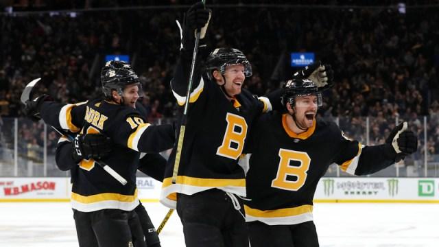 Boston Bruins' Sean Kuraly