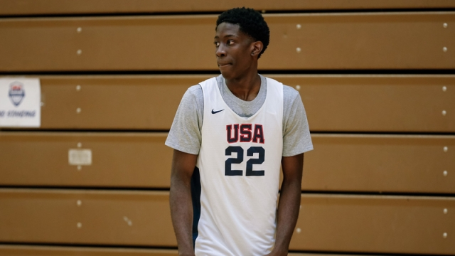 McDonald's All-American participant Terrence Clarke