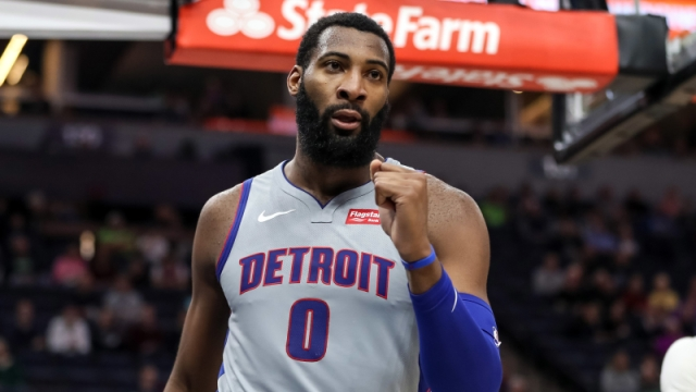 Detroit Pistons center Andre Drummond
