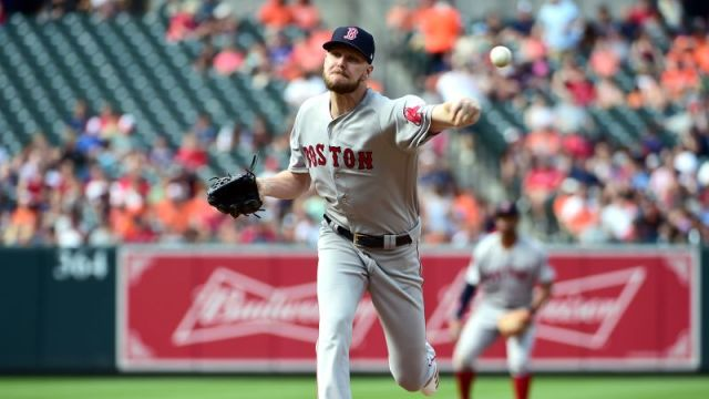 Boston Red Sox starting pitcher Chris Sale
