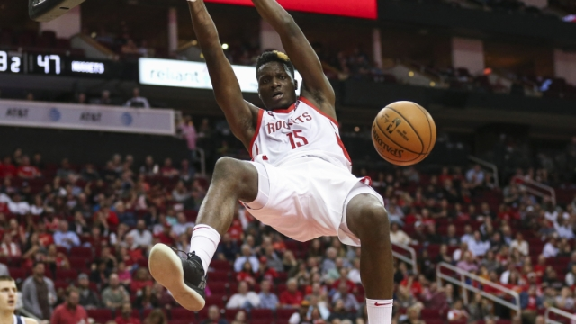 Houston Rockets center Clint Capela