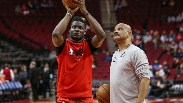 Houston Rockets center Clint Capela