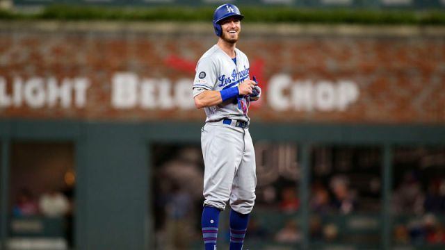 Los Angeles Dodgers outfielder Cody Bellinger