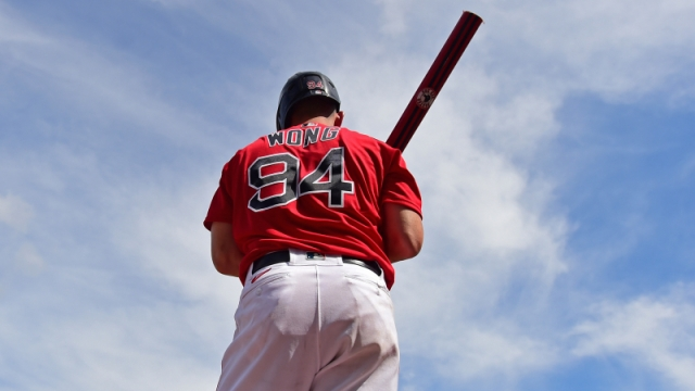 Boston Red Sox catcher Connor Wong