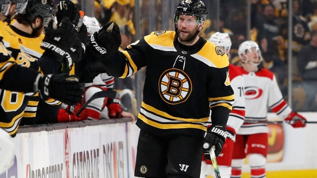 Former Boston Bruins right wing David Backes