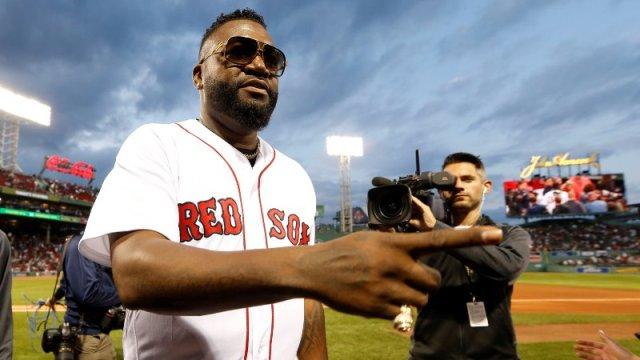 Former Boston Red Sox David Ortiz