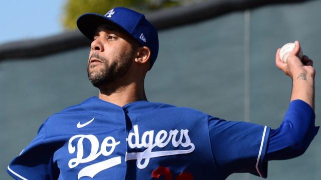 Los Angeles Dodgers Pitcher David Price