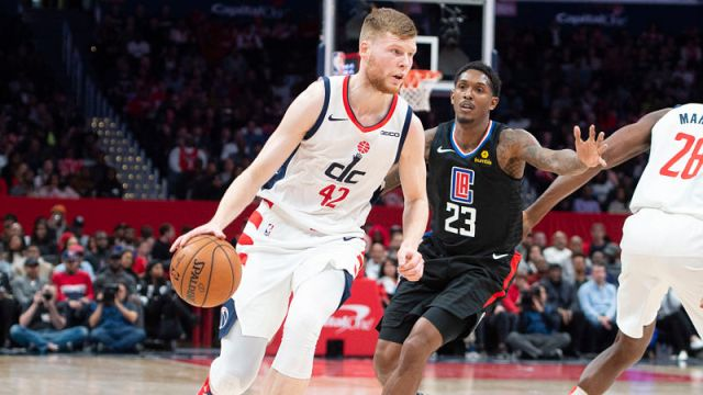 Washington Wizards forward Davis Bertans