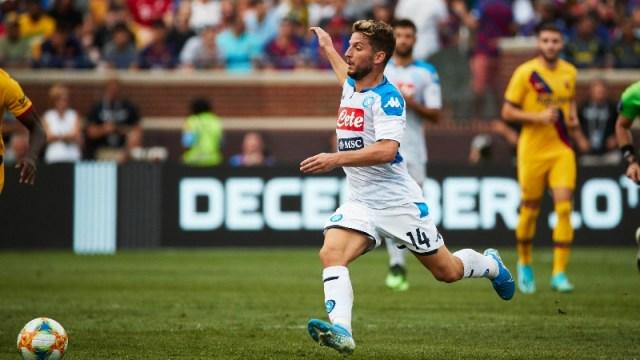 Napoli forward Dries Mertens (14)
