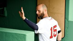 Boston Red Sox second baseman Dustin Pedroia