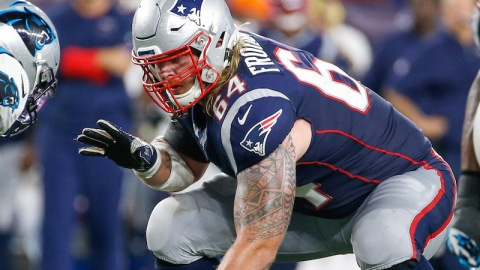 Former New England Patriots guard Hjalte Froholdt