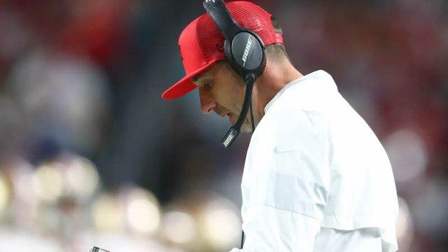 49ers head coach Kyle Shanahan