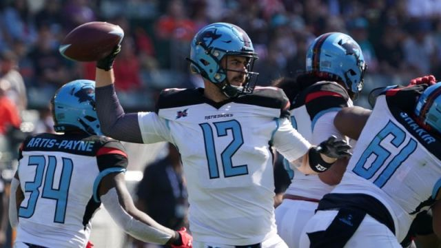Dallas Renegades quarterback Landry Jones