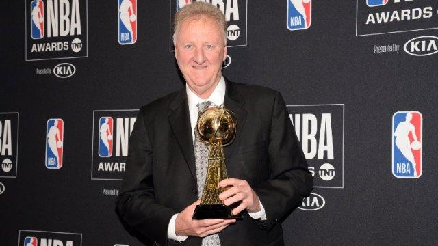 Boston Celtics Larry Bird