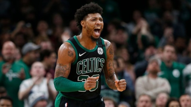 Boston Celtics Guard Marcus Smart