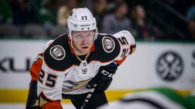 Anaheim Ducks winger Ondrej Kase